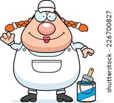 a cartoon illustration of a... | Shutterstock .eps vector #226700827