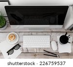 3d illustration of modern... | Shutterstock . vector #226759537