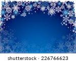 illustration of christmas... | Shutterstock .eps vector #226766623