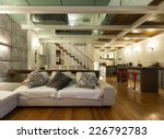 Architecture  Wide Loft With...
