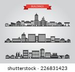 set of vector flat design... | Shutterstock .eps vector #226831423