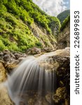 waterfalls of the ruzzo torrent | Shutterstock . vector #226899853