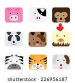 bird symbol icon design .... | Shutterstock .eps vector #226956187