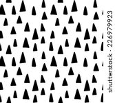 Seamless Triangle Tree Pattern