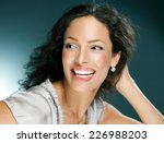 beautiful woman laughing  ...   Shutterstock . vector #226988203