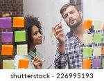 creative business team looking... | Shutterstock . vector #226995193