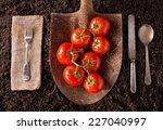Tomatoes Organic Farm To Table...