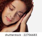 close up portrait of cheerful... | Shutterstock . vector #22706683