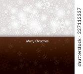 christmas background. vector... | Shutterstock .eps vector #227112337