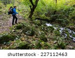 alpine trekking in mehedinti... | Shutterstock . vector #227112463