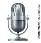 metal microphone. eps10.... | Shutterstock .eps vector #227201053