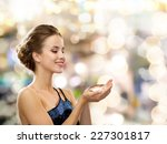 people  holidays and glamour... | Shutterstock . vector #227301817