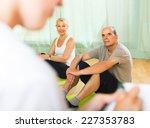 Medical Staff Watching Yoga...