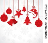 creative greeting card for... | Shutterstock .eps vector #227396863