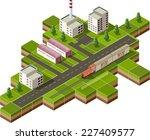vector isometric illustration...   Shutterstock .eps vector #227409577