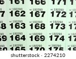 looking at raffle tickets for a ... | Shutterstock . vector #2274210