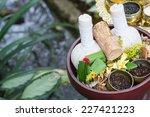 thai traditional herbal balls