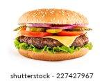classic cheeseburger | Shutterstock . vector #227427967