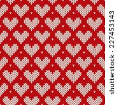 Seamless Knitted Pattern With...