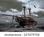 Abandoned Historic Sailing Shi...
