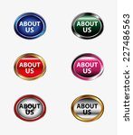 about us button  | Shutterstock .eps vector #227486563