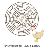 puzzle for children  help to... | Shutterstock .eps vector #227512807