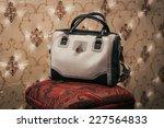 woman bag on elegant background | Shutterstock . vector #227564833
