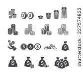 money icon | Shutterstock .eps vector #227574823