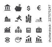 finance icon | Shutterstock .eps vector #227575297