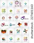 abstract company logo vector... | Shutterstock .eps vector #227601163