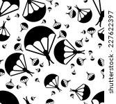 paratrooper seamless pattern   Shutterstock .eps vector #227622397