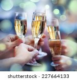 celebration. people holding... | Shutterstock . vector #227664133