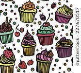 colorfully funny cupcakes