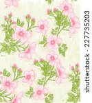 painted flower background   Shutterstock . vector #227735203