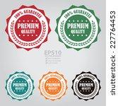 vector   colorful premium...   Shutterstock .eps vector #227764453