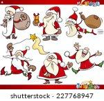 cartoon vector illustration of... | Shutterstock .eps vector #227768947