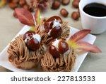 Mont Blanc  Chestnut Cream Cake