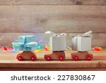 christmas holiday concept with... | Shutterstock . vector #227830867