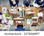 group of business people...   Shutterstock . vector #227836897