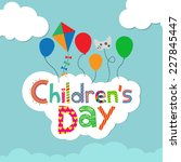children's day background | Shutterstock vector #227845447