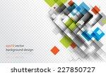 eps10 vector geometric...   Shutterstock .eps vector #227850727