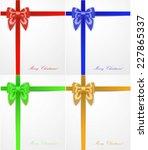 silk bows | Shutterstock .eps vector #227865337