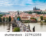 prague  czech republic   june... | Shutterstock . vector #227912353