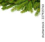 christmas green framework... | Shutterstock . vector #227925763