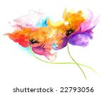 Floral Watercolor Illustration...