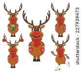 vector illustration set of... | Shutterstock .eps vector #227939473
