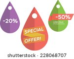 special offer | Shutterstock .eps vector #228068707