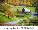Постер, плакат: Fall foliage New England