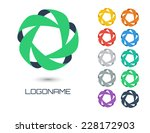 set of business abstract logos. ...