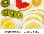 citrus fruits | Shutterstock . vector #228195157